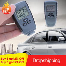 RM660 Digital Car Painting Thickness Gauge Auto Metal Coating Lacquer Ferrous Thickness Tester Russian/English Manual