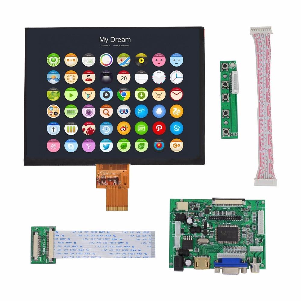 HDMI/VGA/AV Control Driver Board + 8