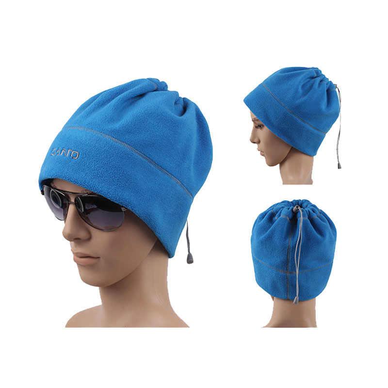 a0ccaab6ca401 ... SANTO Brand Mens Warm Hat Unisex Winter Beanie Women Skullies Polar Fleece  Beanies Thicken Hats Hip ...