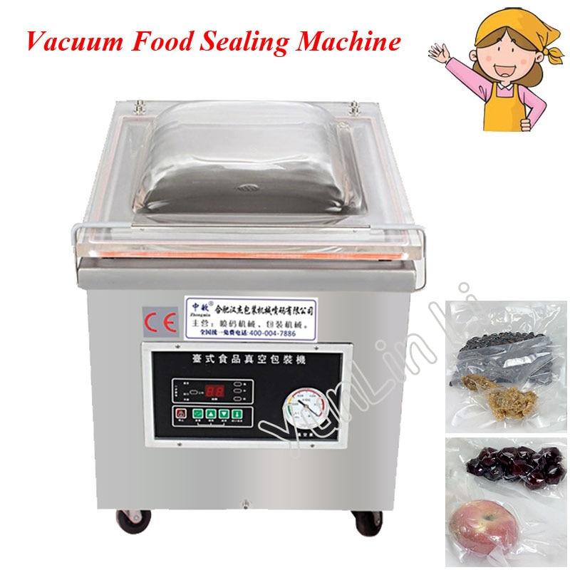 Desktop Electric Food Sealer 350mm Automatic Vacuum Packing Machine High Quality Sealing Machine DZ-350