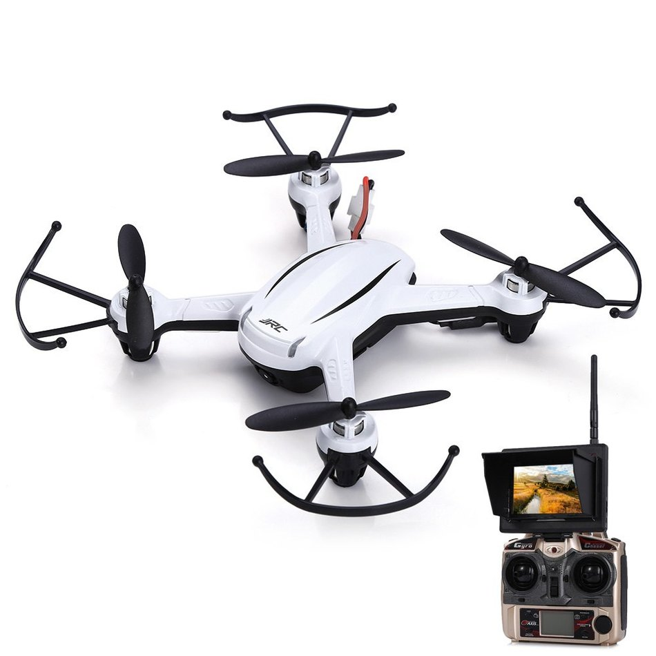 JJRC H32GH 5.8G FPV HD Camera 2.4GHz 4CH 6 Axis Gyro RC Quadcopter Real-time Transmission RTF Air Pressure Altitude Holds VS H8D new original jjrc h6w 2 4g 4ch 6 axis gyro rc fpv quadcopter real time transmission rc wifi drone with 2 0mp hd camera