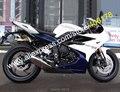Для Triumph Daytona 675 Body Kit 2013 2014 2015 Daytona675 13 14 15 Белый Синий Корпус рынок запчастей АБС мотоцикл обтекатель