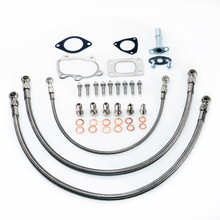 Kinugawa Turbo Oil and Water Line Kit for Nissan SR20DET S14 S15 Top Mount for Garrett GT28R GT30R Ball Bearing