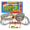 On Stock Music Thomas track train set electric track of small train toy car kids toys track For children's Christmas gift