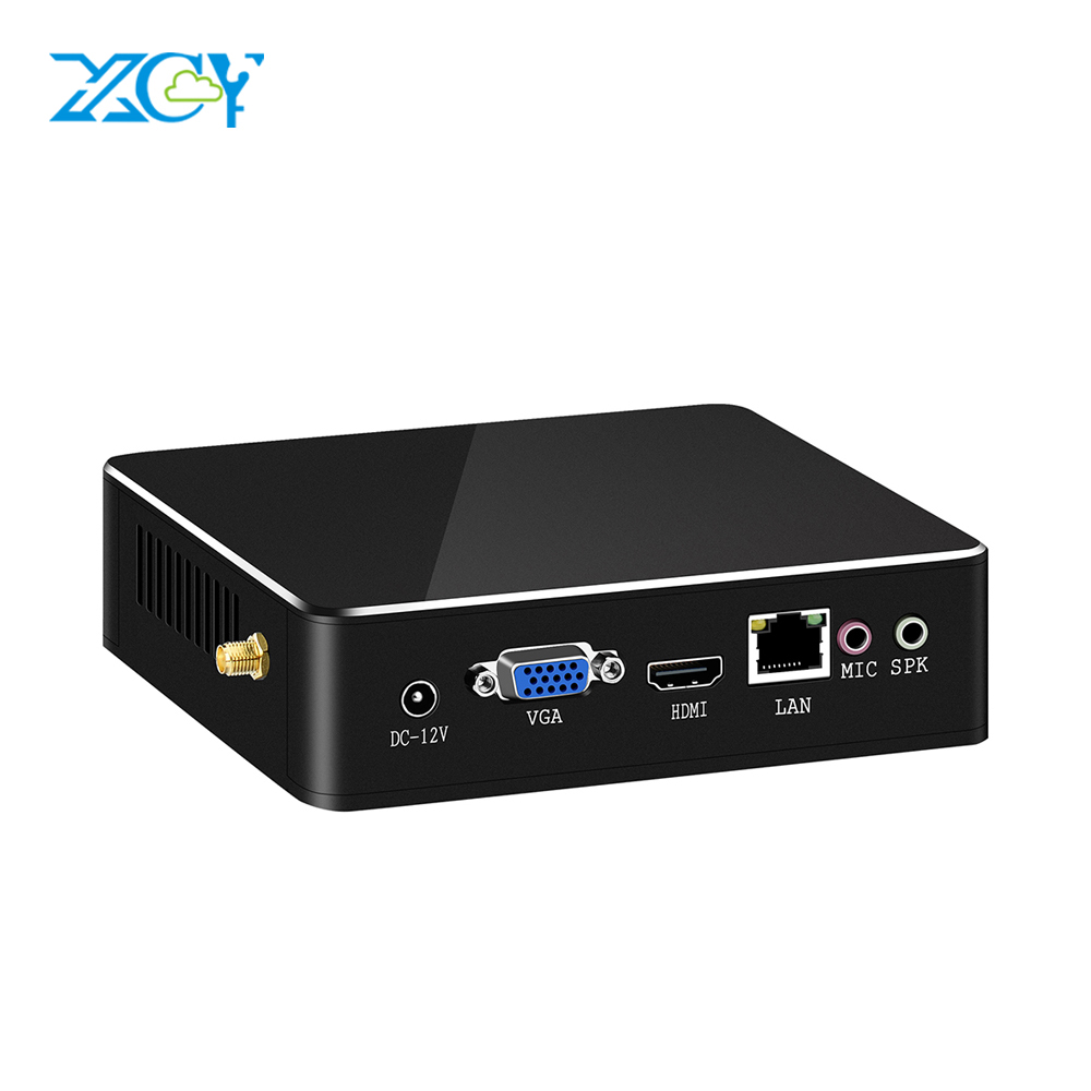Mini PC Intel Pentium 4405U HDMI VGA DDR3L USB3.0 WiFi 8GB RAM DDR3L Micro PC NUC Ultra Compact Silent Windows Intel PC