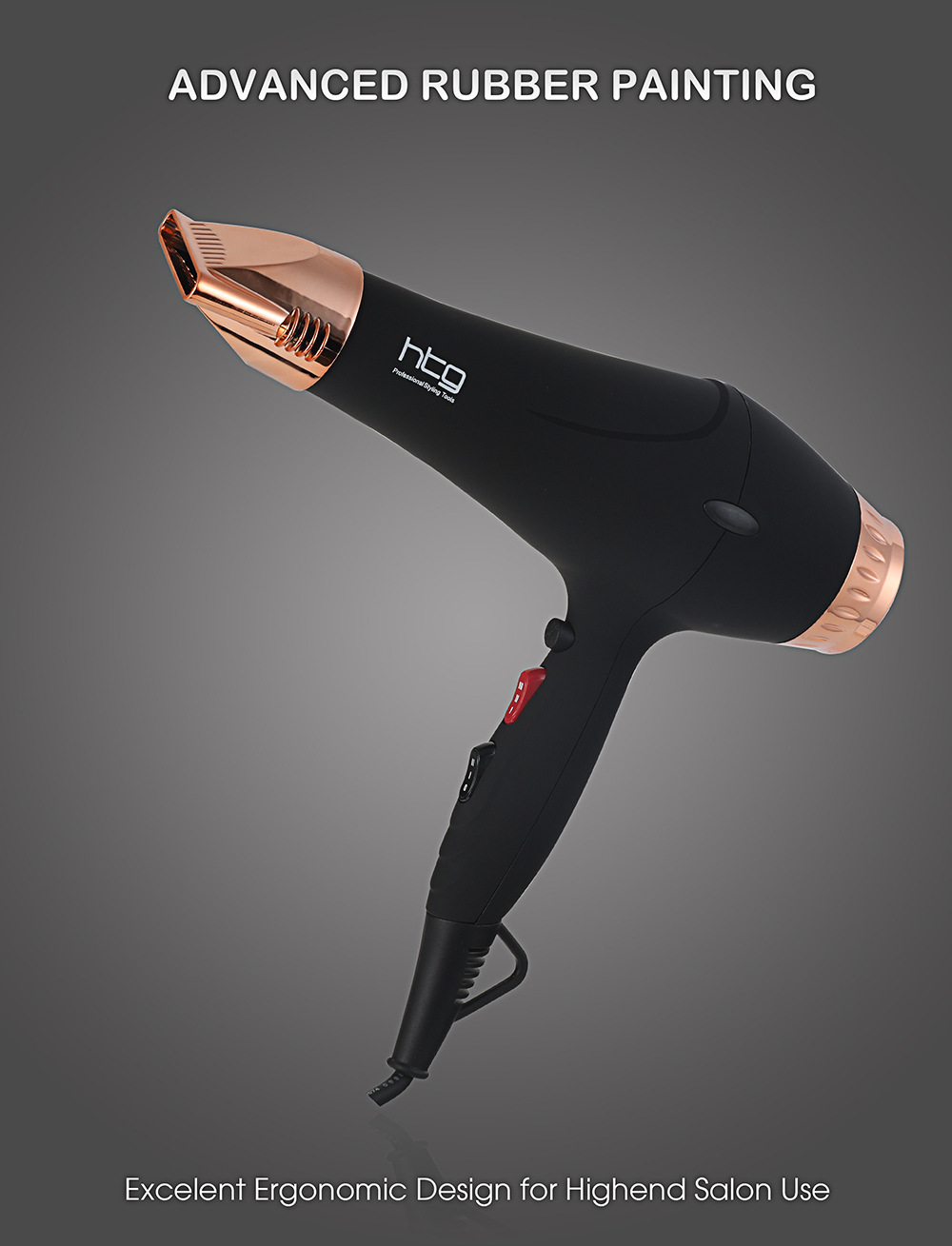 Russia Ship HTG 2300W powerful professional Hair Dryer Negative ion Ionic Infrared Blow Dryer EU Plug