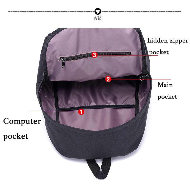 Voice Control Gloeiende Nieuwe Mannen Vrouwen Rugzakken Schooltassen voor Meisjes Grote Capaciteit Laptop Rugzak Mode Toevallige Rugzak B343