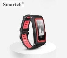 Smartch T28 Bluetooth Smart браслет, браслет gps, монитор сердечного ритма, 0.96 inch LED Большой Экран, Спорт фитнес трекер