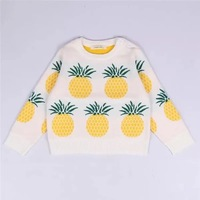 Hot Sale Boy Girl Sweater Brand Design Wool Thick Knitwear Knitted Pullover Cardigan For Baby Children