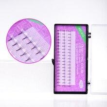 50 תיבות Natrual 0.07mm סופר רך משי ריסים 6D מזויף ריסים מלאכותיים מינק ריס הארכת ריסים איפור כלים