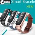 Atletismo persona m6 smart watch sleep monitor de rastreador de fitness deportes pulsera inteligente bluetooth banda de auriculares para iphone samsung