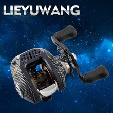 2017 New LIEYUWANG Brand Spartacus Right OR Left Hand Bait Casting Fishing Reel 12BB+1 6.3:1 200g Baitcasting Reel
