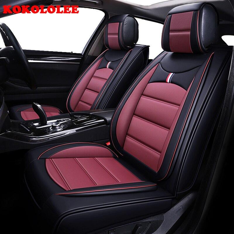 Housse de siège de voiture kokolololee pour Toyota alphard Prado RAV4 Fj CRUISER LAND CRUISER couronne Fortuner COROLLA Sienna protecteur de sièges de voiture
