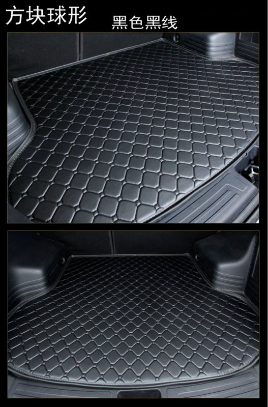 Automobile Cargo Liner Car Trunk Mat Suitcase For Skoda