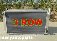Radiador de aluminio para Nissan PATROL, 52MM, 4.2 l, 1987-1997 88 89 MT