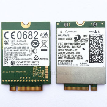 Huawei MU736 3G WWAN Card Module 723985-001 748599-001 For HP ProBook 430 440 640 645 650 655 G1 ZBook 17 EliteBook 850, 820 G1