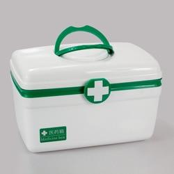 Многослойная коробка для хранения лекарств, Аварийная Аптечка, открытый водонепроницаемый портативный контейнер для таблеток, органайзер ...