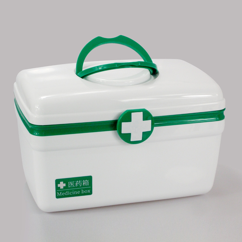 Multilayer Medicine Storage Box Emergency First Aid Kit Outdoor Waterproof Portable Pill Box Medicine Organizer Container