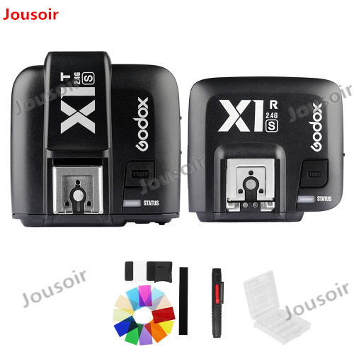 Godox X1S Transmitter + Receiver TTL 2.4G 1/8000s HSS Wireless Flash Trigger Kit For S a77II a7R a7SII A6500 A6300 CD50Godox X1S Transmitter + Receiver TTL 2.4G 1/8000s HSS Wireless Flash Trigger Kit For S a77II a7R a7SII A6500 A6300 CD50