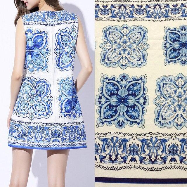 d0a0ebe100 Poliester żakardowa sukienka tkaniny