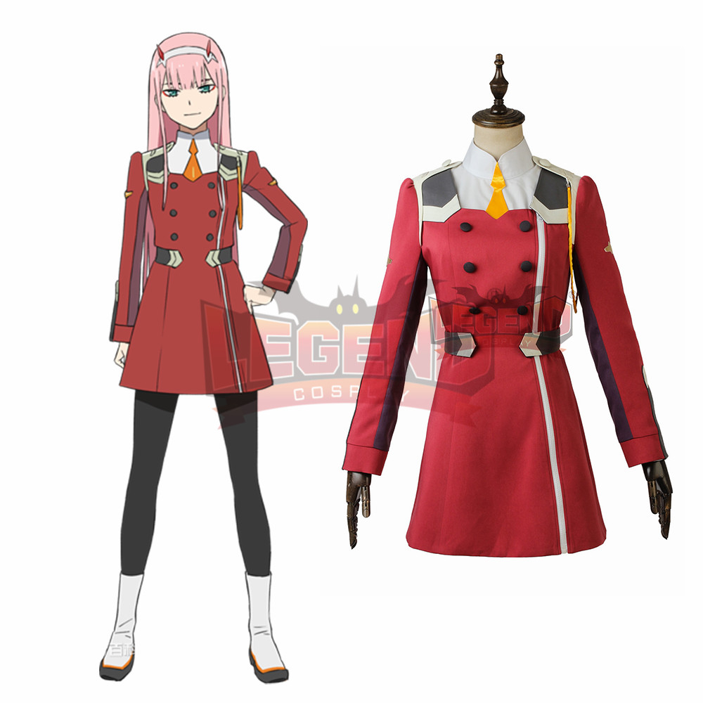 DARLING in the FRANXX CODE:002 ZERO TWO Cosplay Costume adult custom made all size