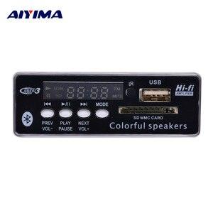 Image 5 - AIYIMA Bluetooth MP3 デコーダボードオーディオモジュール WMA WAV USB SD デコード FM Aux ラジオ用 Diy