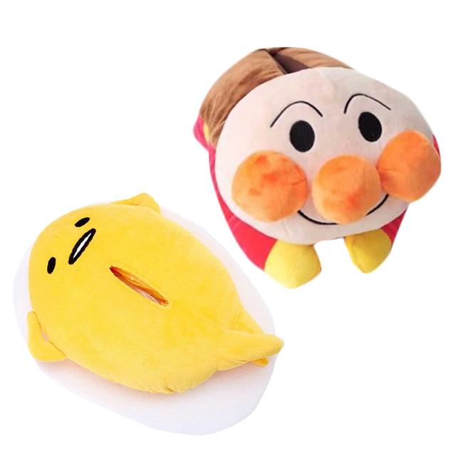 japanese gudetama anpanman baikinman plush doll toy lazy egg kawaii