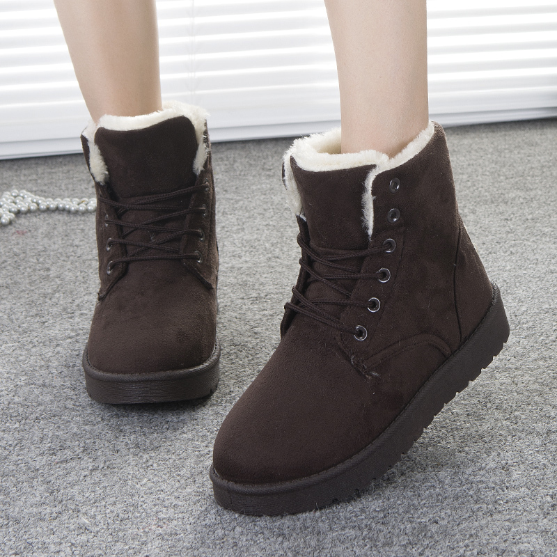 Aliexpress.com : Buy Classic flat heel ankle boots Winter Fashion ...