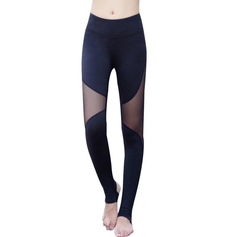 Maryigean Ladies High Waist Mesh Women Leggings Fitness Breathable Push Up Leggings Women Quick Dry Plus Size Casual Leggins