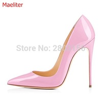 Sexy Shoes Woman Rivets High Heels Party Shoes Pointed Toe Women Shoes Fashion Stiletto Heels Women