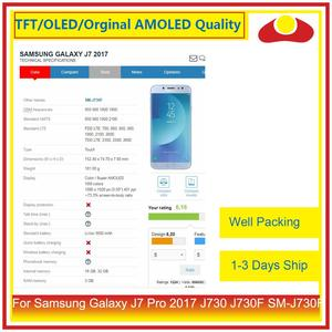 """Image 5 - ORIGINAL 5.5"""" For Samsung Galaxy J7 Pro 2017 J730 J730F SM J730F LCD Display With Touch Screen Digitizer Panel Pantalla Complete"""