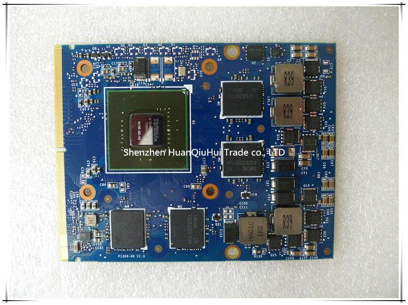 Brand New For nVIDIA GTX 660M GTX660M N13E-GE-A2 2GB GDDR5 MXM 3.0B Video Card For Dell M15X M17X M18X Laptop Graphics Card(China)