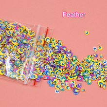 1 Pack DIY 3D Nail Art Designs Fruit Flower Polymer Clay Tiny Stickers Decal Decoration WH998 3 50pcs pack cute art manicure fimo polymer clay canes sticks rods diy decoration for nail art animal flower for design beauty