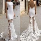 mermaid wedding dres...