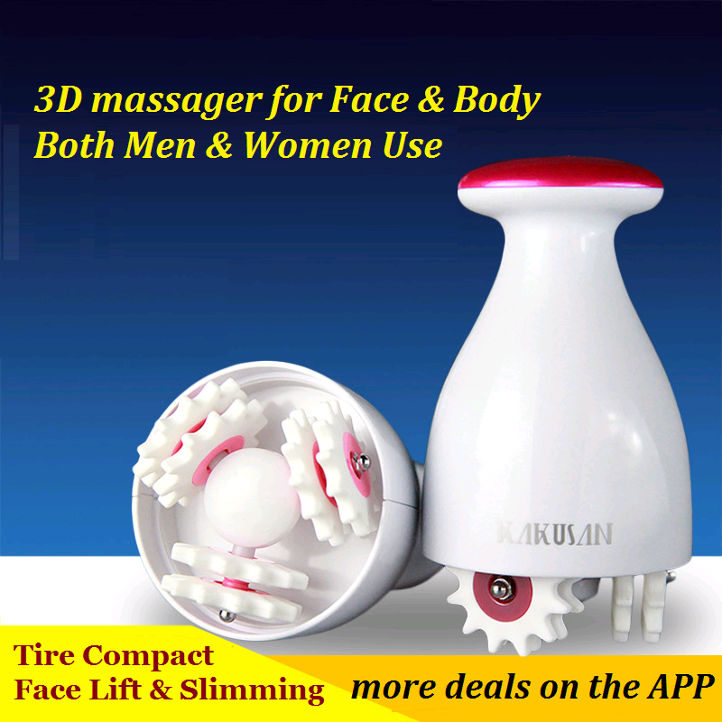 High Quality Chargeable 3D Massager for Face lift body sculpting Slimming machine Weight Loss Foot massager Beauty instrument