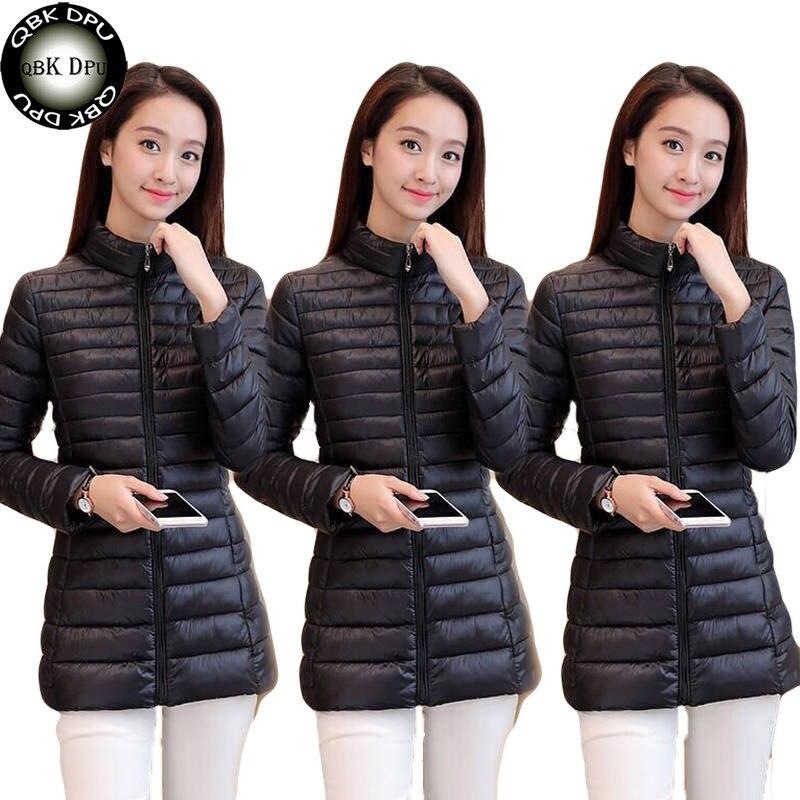 autumn Plus Size Jacket Women Fashion Womens Winter Coat Slim Long Sleeve Cotton padded Coats And Jackets   parkas   mujer 2019