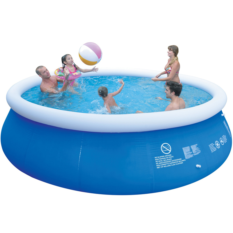 3a3eace6f55 Summer Inflatable Swimming Pool PVC Water Sports Baby Kids Family Garden  Play Pools Big Portable Round Swimming Pool Blue -in Pool   Accessories  from Sports ...