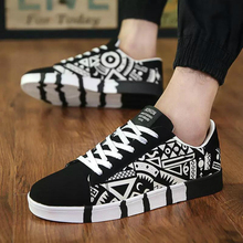 Printing Pattern Skateboard Breathable Sneakers
