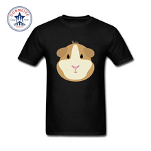 2017 Hot High Quality Cotton Guinea pig Cotton Funny t shirt for men