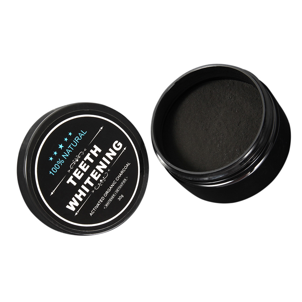 30g Teeth Whitening Powder Smoke Coffee Tea Stain Remove Bamboo Activated Charcoal Powder Oral Hygiene Dental Tooth Care HJL2017