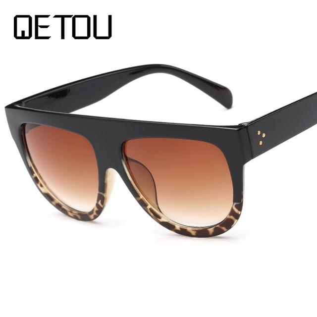 c6c3a39ca775e QETOU New Fashion Cat Eye Sunglasses Women Brand Designer Vintage Gradient Cat  Eye Sun Glasses Shades For Women UV400