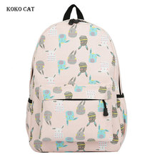 Teenagers Students Canvas Backpack Middle School Bags Casual Ladies BookBags Multi-compartment Travel Rucksack Mochila Escola 2018 women canvas lovely cute cat printing backpack girls casual school bag ladies travel rucksack bookbags mochila bags