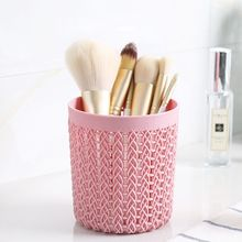 1pc Hollow Cosmestic Brush Box Empty Cylinder Makeup Accesso