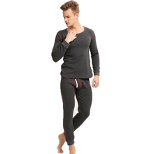 Mens Heated Base Layers Wool Thermal Underwear Long Johns Winter Men Heat Sets Keep Warm Intimates