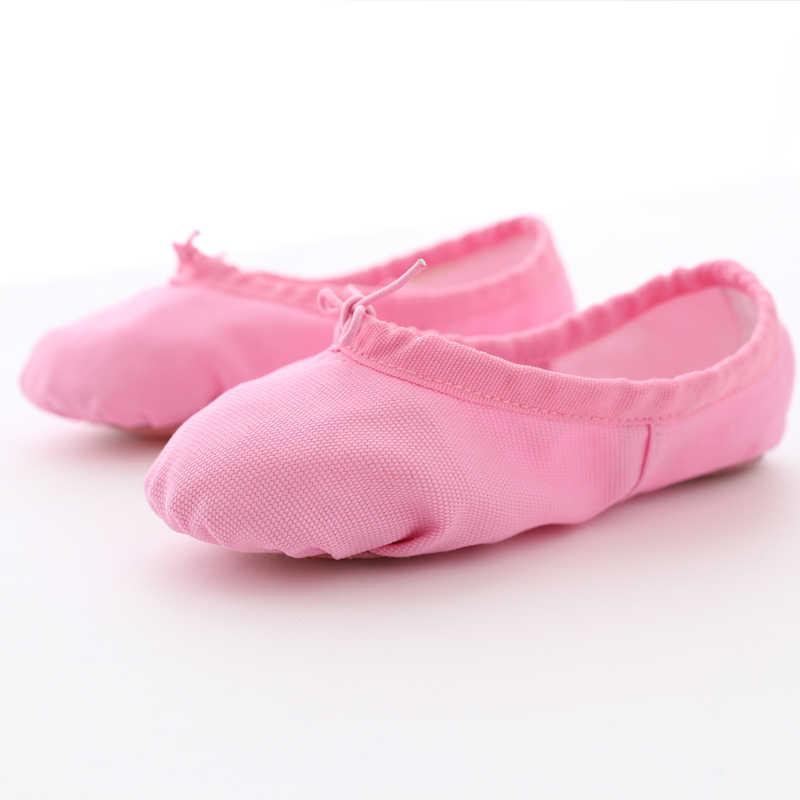 Bambini Scarpe Da Ballo Morbida Tela di Canapa Delle Ragazze Scarpe Da Ballo Scarpe Da Ballo di Alta Qualità Pantofola Scarpe Da Ballo Balletto