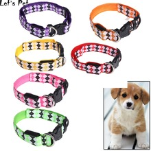 Let's Pet Pets Cat Dogs LED Collar Luminous Night Safety Flashing Leash Harness Supplies