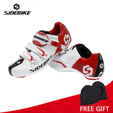 Sidebike Men Athletic Cycling Bike Shoes Road Bicycle Sport Shoes Sneakers Autolock Sapato Ciclismo EUR Size 40-46