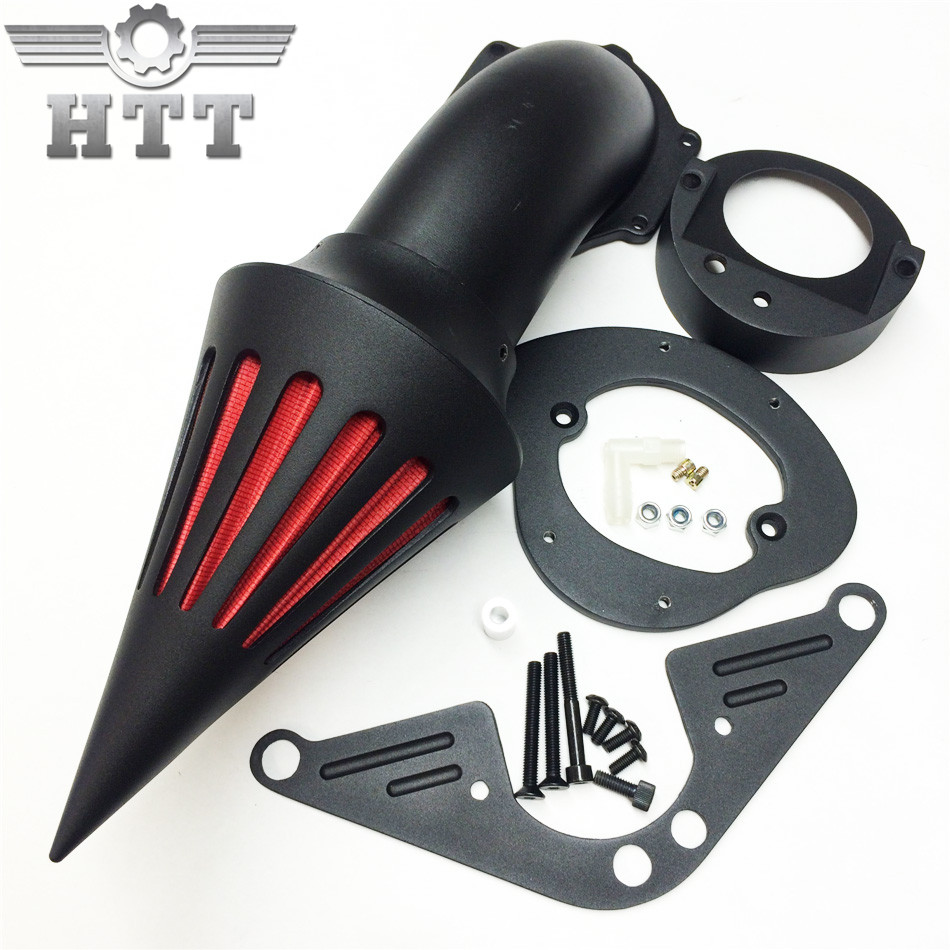 Aftermarket Motorcycle parts Spike Air Cleaner for Yamaha Road Star 1600 XV1600A 1700 XV1700 1999-2012 BLACK aftermarket motorcycle parts chrome spike air cleaner for yamaha road star 1600 xv1600a 1700 xv1700 1999 2012