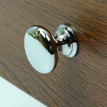 10pcs free shipping 30mm bright chrome shiny silver drawer shoe cabinet  dresser modern furniture hardware knobs handles pulls