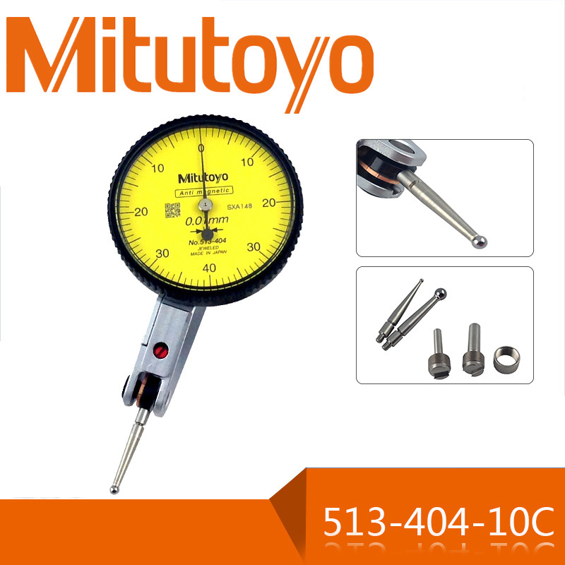 Precision tool Mitutoyo 0-0.8mm 513-404 precision 0.01mm lever indicator